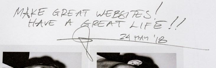 Glenn Zucman's signature, dated 24 May 2018