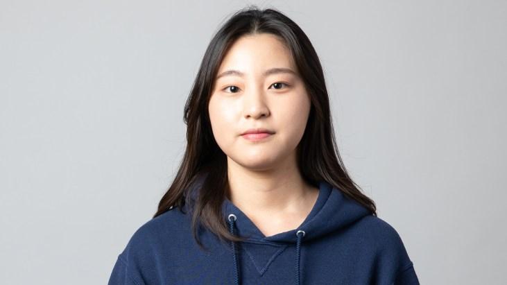 "Portrait of artist Hyun ""Lois"" Bae by Sean DuFrene"