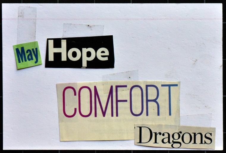 May hope comfort dragons