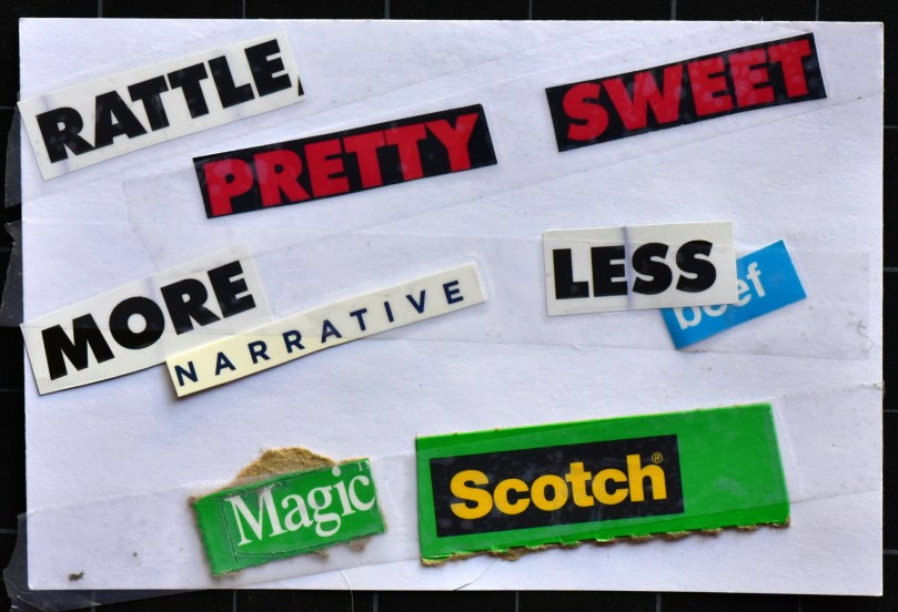 Rattle pretty sweet, more narrative, less beef, magic scotch