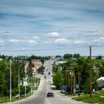 The Main Street of Cardston