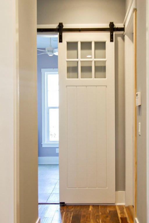 Uses For Sliding Barn Doors In New Home Glenn Layton Homes