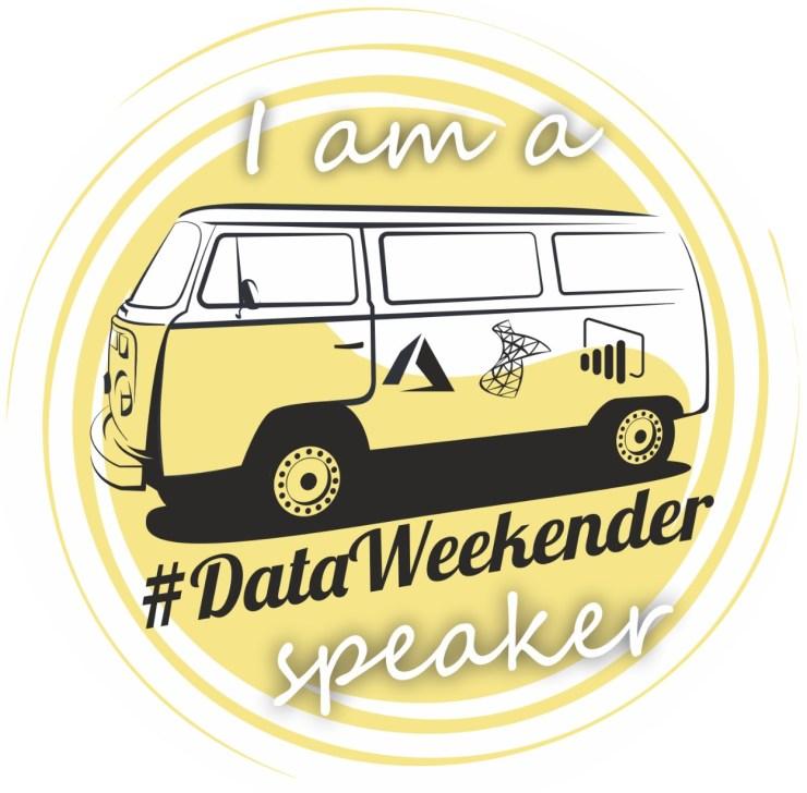 Data Weekender Speaker
