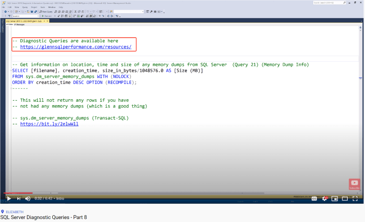 SQL Server Diagnostic Queries - Part 8