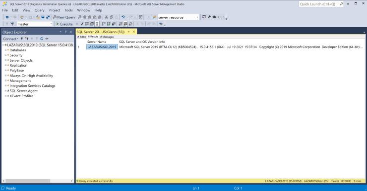 SQL Server 2019 Cumulative Update 12