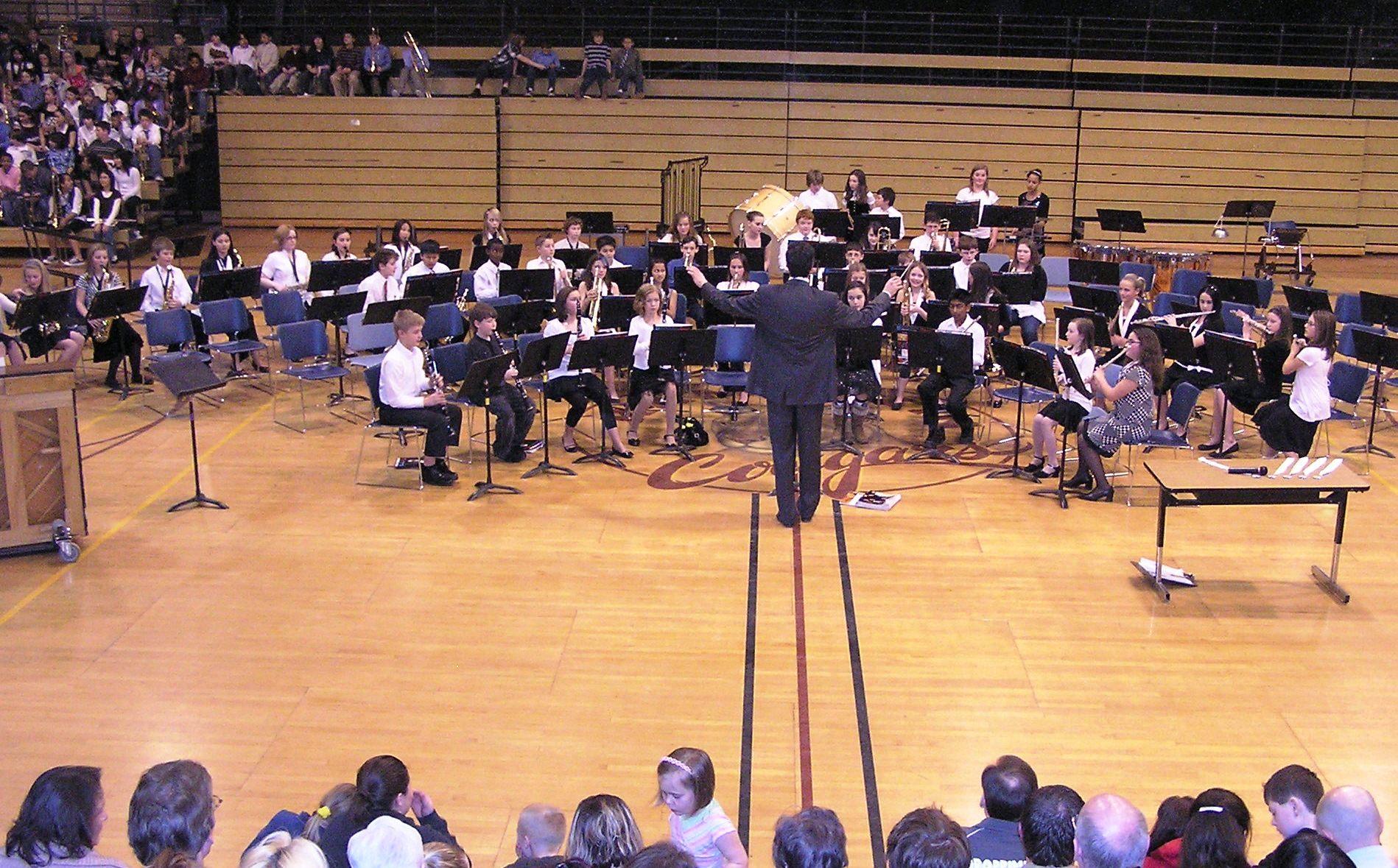 Kamiakin Junior High School Band Concert In Kirkland Glenn S Trumpet Notes