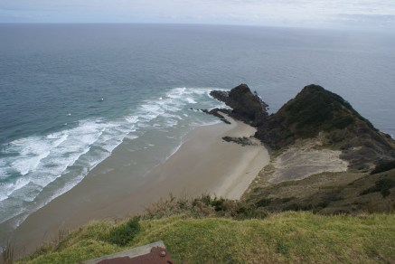 Lieu maori sacré, près du phare, où les âmes des défunts commencent leur voyage dans le monde spirituel (côté Pacifique).