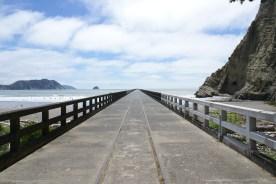 Tolaga bay wharf, le ponton le plus long du pays (600m)