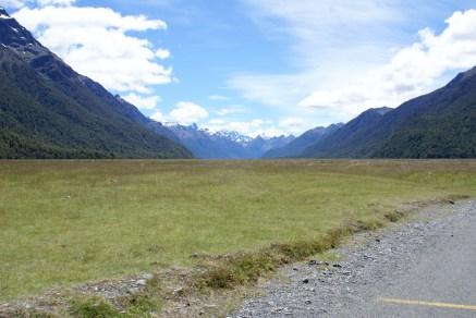 Chemin faisant entre Te Anau et Milford Sound