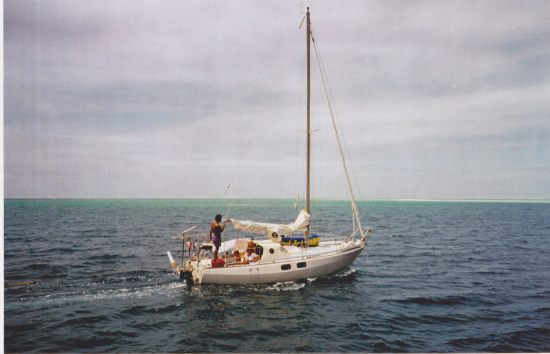 Sailing to Bora Bora, 1997