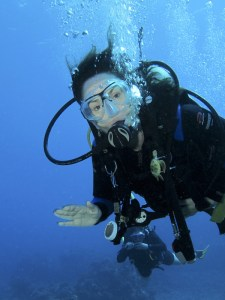 Glenn Younger diving in maui, Enlightertainment with Glenn Younger about page