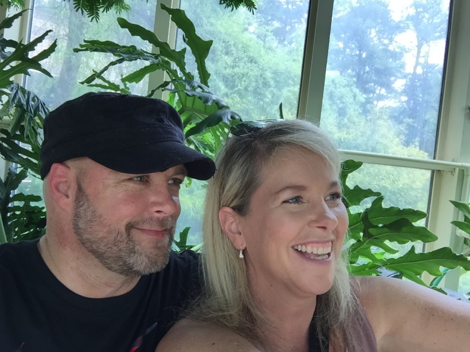 Having a great weekend at Callaway Gardens with a great girl.