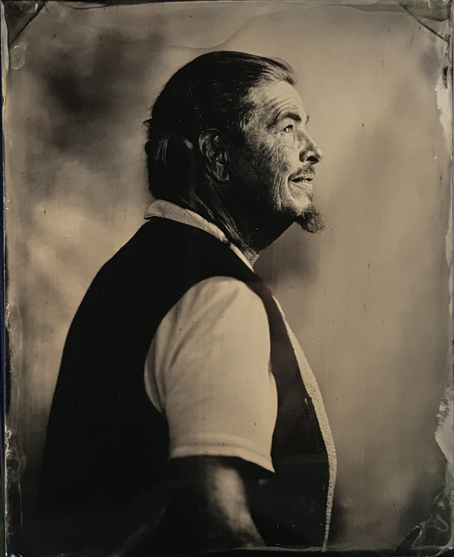 Tintype portrait made in Glens Falls by fine art tintype photographer Craig Murphy and Glens Falls Art tintype studio