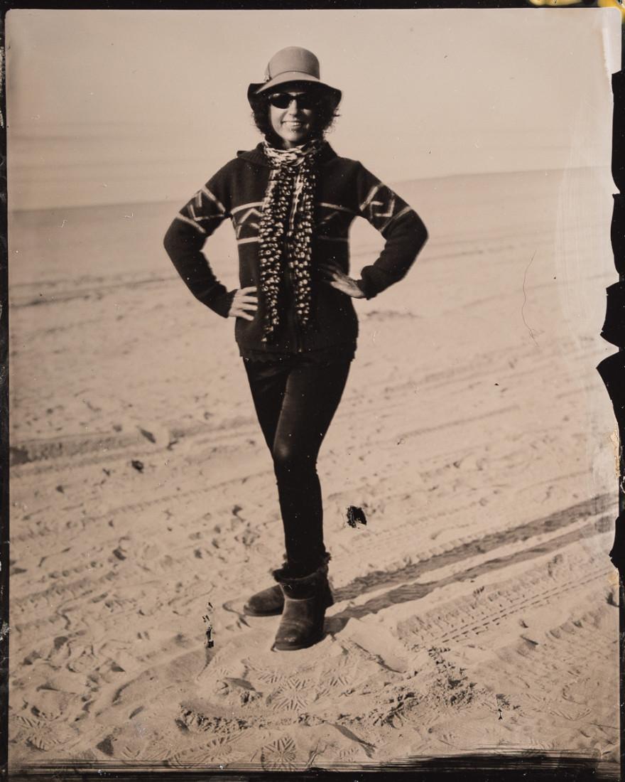 Tintype portrait photograph by fine art tintype photographer Craig Murphy and Glens Falls Art tintype studio