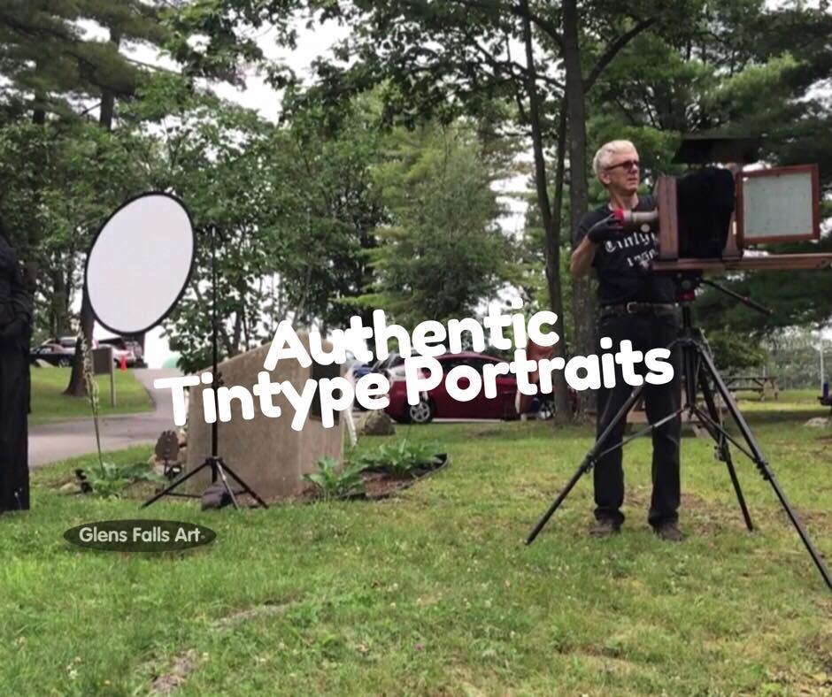 Fine art tintype portraits by photographer Craig Murphy and Glens Falls Art tintype studio