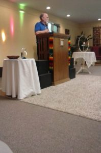 Guest speaker Lance Clark.
