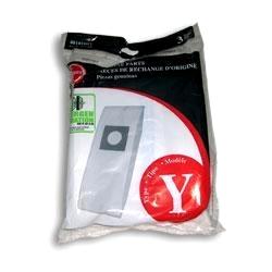 3 Genuine Hoover Type Y Allergen WindTunnel Vacuum Bags