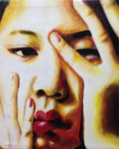 Asian Girl by Sunkung Lee, 2nd place 12th grade, GBN