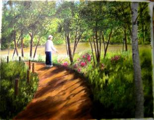 Botanic Garden Path