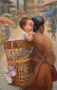 At The Market by Sandy Sheagren