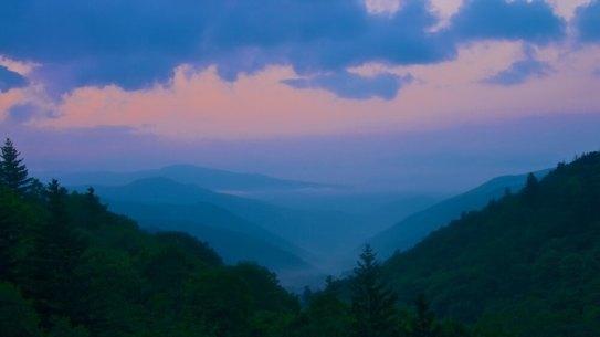 Great Smokey Mountains Sunrise