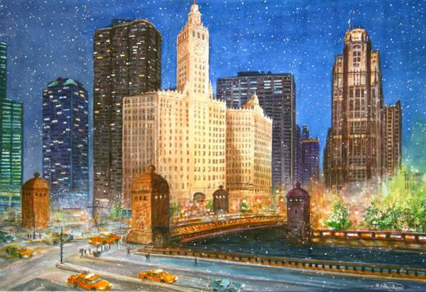 Michigan Avenue by Jim Brooksher