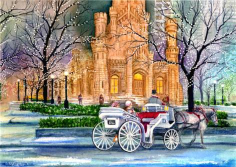 Carriage Ride by Jim Brooksher