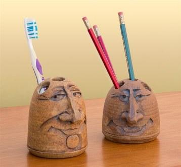 Stephen & Karen Steininger - pencil holders