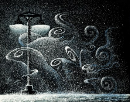 Streetlight Serenade-Winter Lullaby by Les Scott