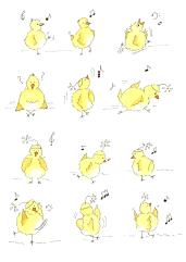 Chickies Dancing, Leslie Johns