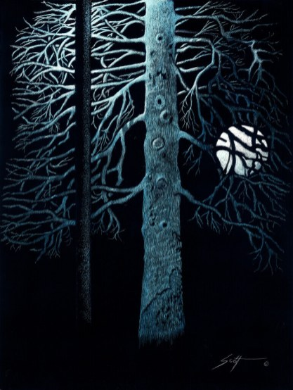 Les Scott, A Light At Both Ends (Streetlight and Moon)