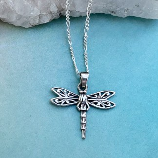 Sterling Silver Dragonfly Pendant2