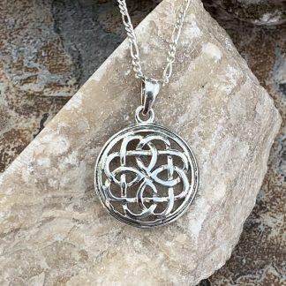 Delicate Celtic Knot Pendant