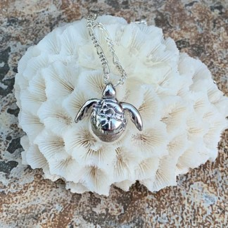 Baby Sea Turtle Pendant