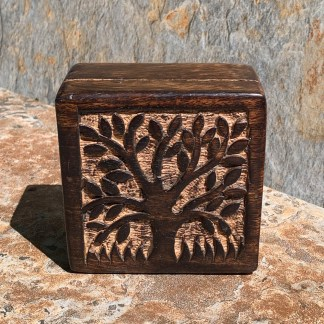 Tree of Life Mango-Wood Box