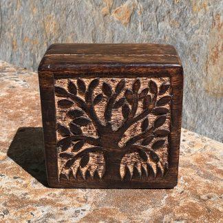 Tree of Life Mango-Wood Box