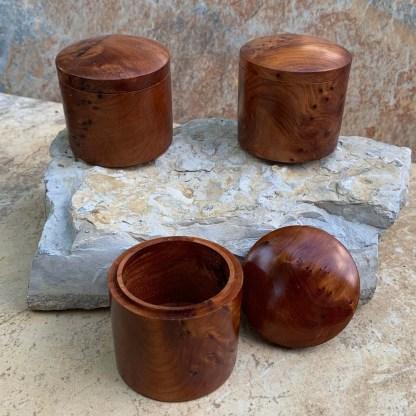 Moroccan Thuya Cylinder Box