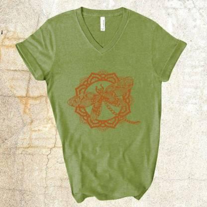Green Dragonfly T-Shirt