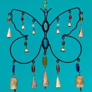 Iron Butterfly Wind Chime