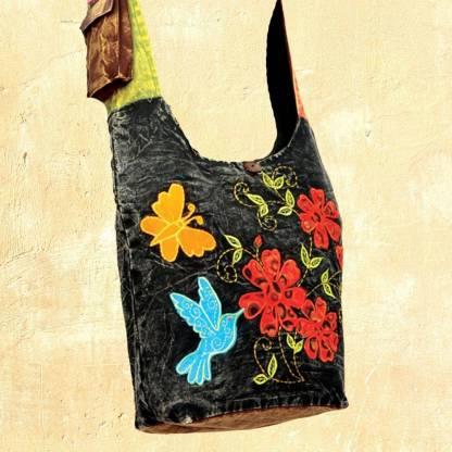 Colorful Hummingbird Monk Bag