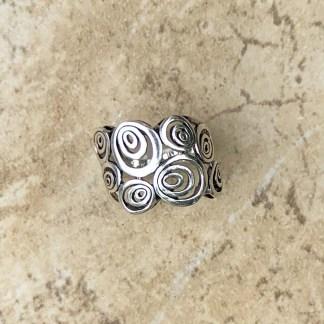 Sterling Endless Circles Ring