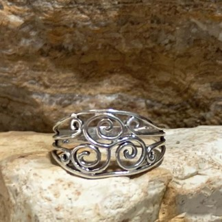 Sterling Silver Metalworks Ring