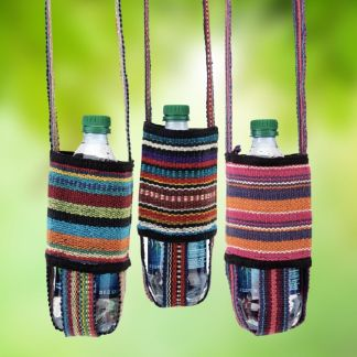 Woven Water Bottle Sling