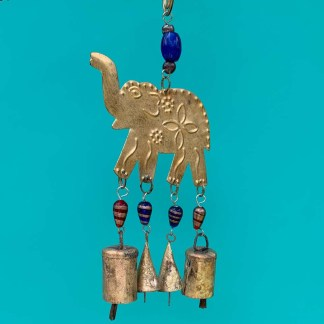 Bright Elephant Wind Chime