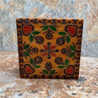 Hearts & Flowers Jewelry Box
