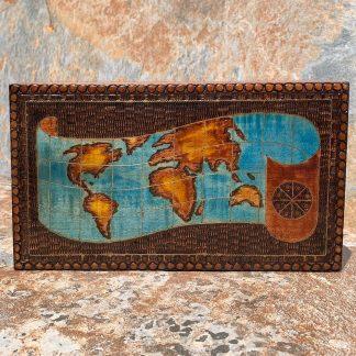 Old World Map Box