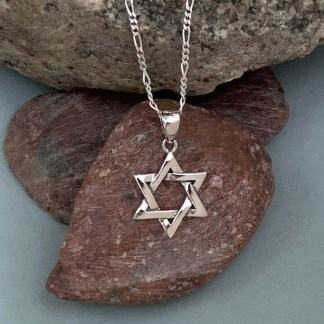 Sterling Star of David Pendant