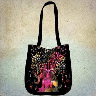Multicolored Elephant Bag