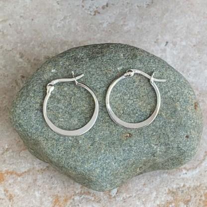 Sterling Silver Circle Earrings