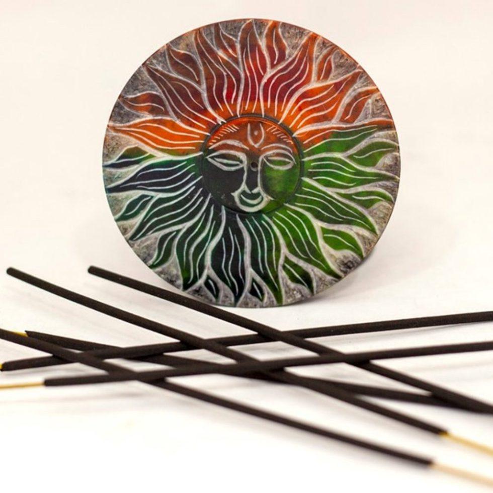 Sun Plate Incense Burner
